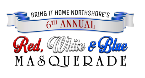 6th Annual Red White and Blue Masquerade Logo
